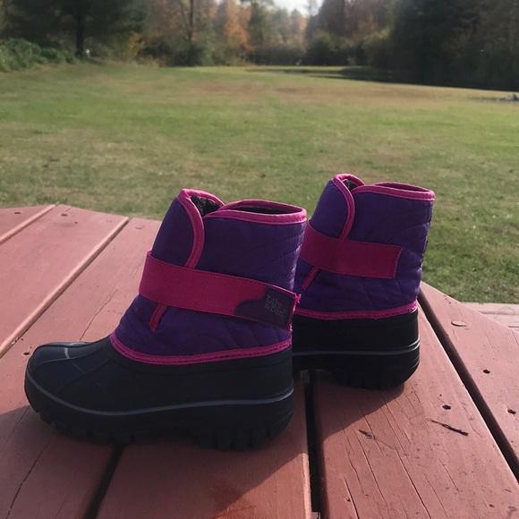 Girls Aldi Snow Boots Size